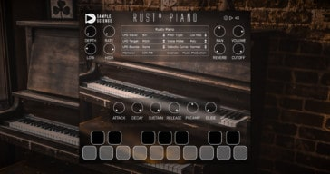 Rusty Piano by SampleScience