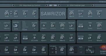 Sawrizor Lite by Sugar Audio