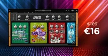 Get 85% OFF Stomp Board By BBE Sound @ VSTBuzz