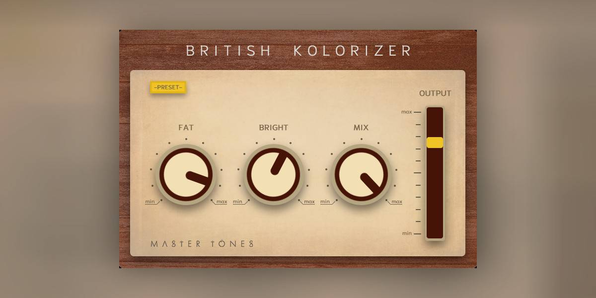 British Kolorizer By Master Tones Is FREE For A Limited Time - Bedroom Producers Blog