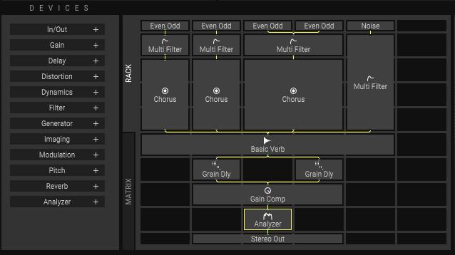 A closer look at EnRage's device matrix.