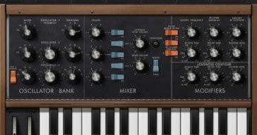 Minimoog Model D Synthesizer by Moog Music Inc.