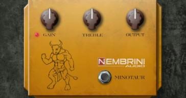 Klon Centaur Guitar Pedal by Nembrini Audio