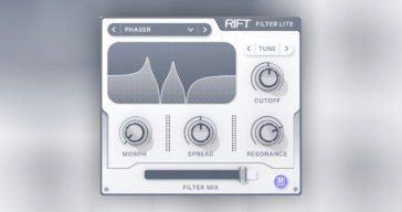 Rift Filter Lite by Minimal Audio