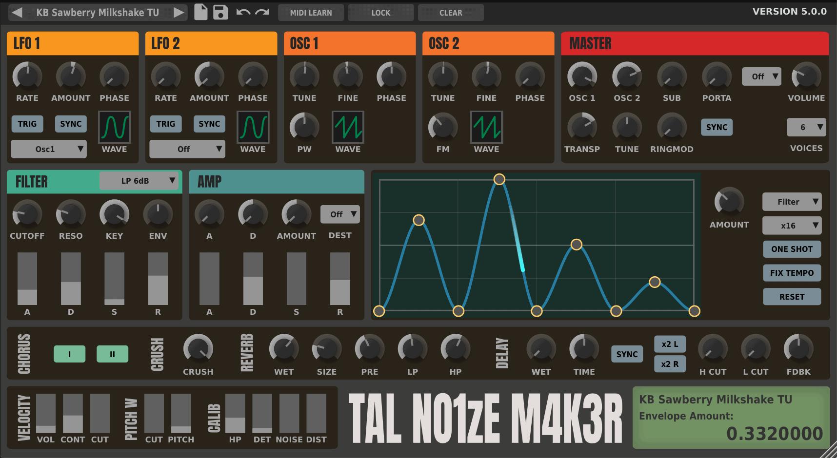 TAL-NoiseMaker by Togu Audio Line