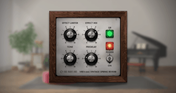 VREV-666 Spring Reverb by Fuse Audio Labs