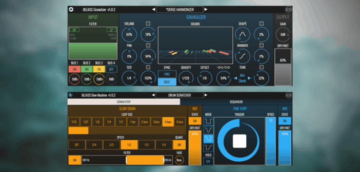 Bleass Releases Slow Machine & Granulizer For Desktop (Intro Price)