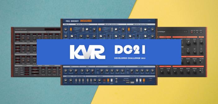 KVR Developer Challenge 2021 - Download 37 FREE Audio Plugins