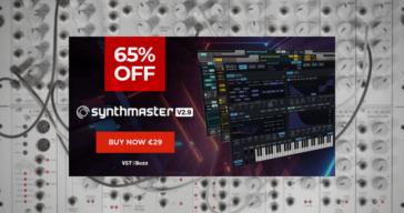 Get 63% OFF KV331 Audio SynthMaster @ VSTBuzz (€29)