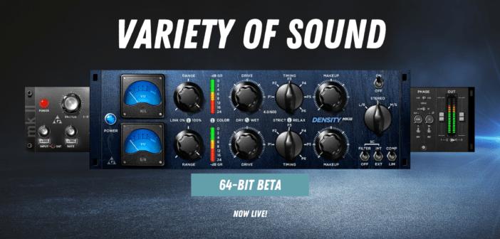 Variety Of Sound 64-Bit Plugins Public Beta Is Now LIVE!
