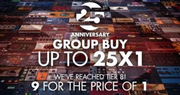 IK Multimedia 25th Anniversary Group Buy