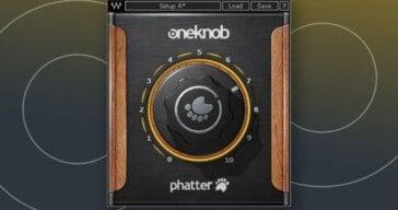 Waves OneKnob Phatter FREE