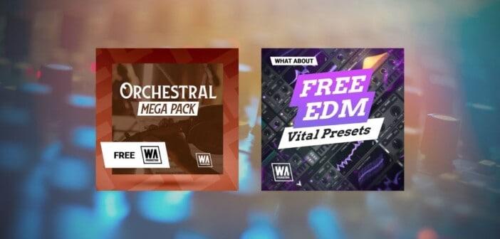 FREE Vital EDM Presets & FREE Orchestral Mega Pack
