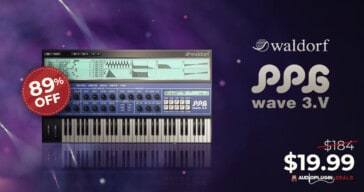 Get 89% OFF Waldorf PPG Wave 3.V @ Audio Plugin Deals
