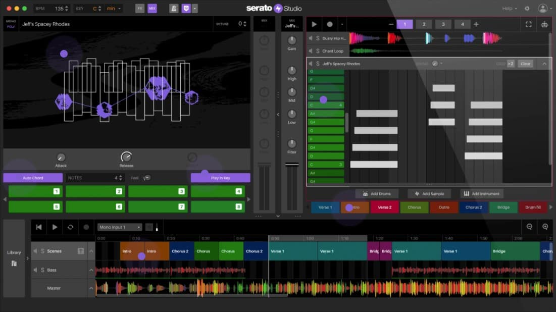 Serato Studio 1.6 is a DAW for beginners and advanced beatmakers alike.