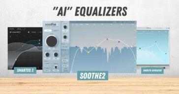 Intelligent EQ Plugins Comparison: soothe2, smart:EQ 3, Smooth Operator