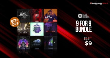 9 for 9 Production Master Bundle by Black Octopus Sound
