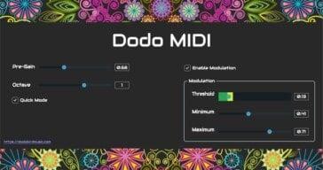 Dodo MIDI Is A FREE Audio To MIDI Converter